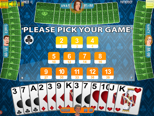Golden Card Games Tarneeb – Trix – Solitaire screenshots 4