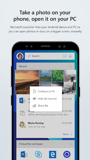 Microsoft Launcher 4.6.2.40792 screenshots 3