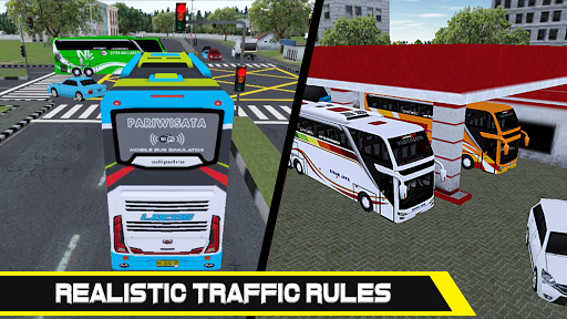 Mobile Bus Simulator 1.0.0 screenshots 3