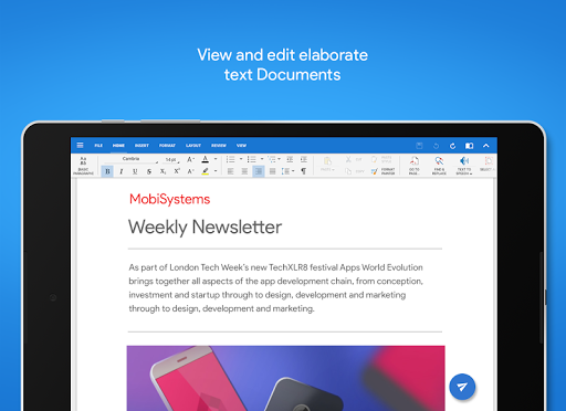 Mobisystems OfficeSuite Free Office PDF Editor 9.3.11997 screenshots 9