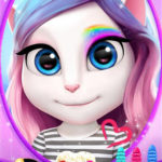 Download Full My Talking Angela MOD APK Unlimited Money