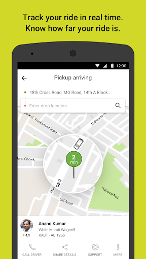 Ola cabs – Taxi Auto Car Rental Share Booking screenshots 3