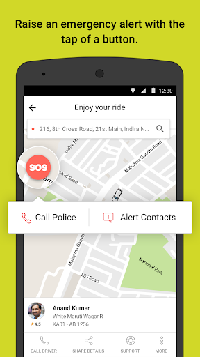 Ola cabs – Taxi Auto Car Rental Share Booking screenshots 4