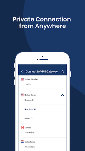 OpenVPN Connect Fast amp Safe SSL VPN Client 3.0.3 screenshots 4