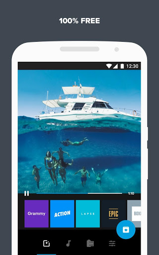 Quik Free Video Editor for photos clips music 4.6.0.3691-ed8c819 screenshots 5