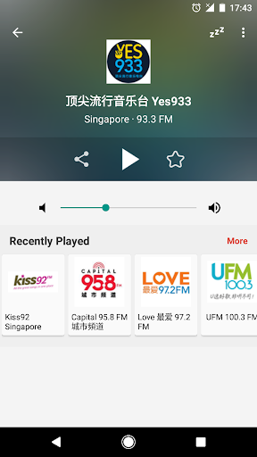 Radio FM Singapore 6.5 screenshots 2