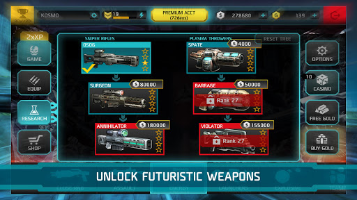 SHADOWGUN DeadZone screenshots 5
