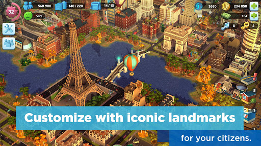 SimCity BuildIt 1.21.2.71359 screenshots 2