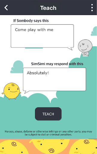 SimSimi 6.8.2.7 screenshots 2