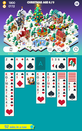Solitaire Age of solitaire city building game 1.3.5 screenshots 2