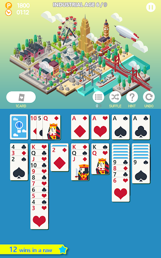 Solitaire Age of solitaire city building game 1.3.5 screenshots 3