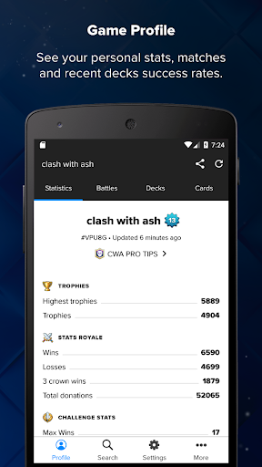 Stats Royale for Clash Royale screenshots 1