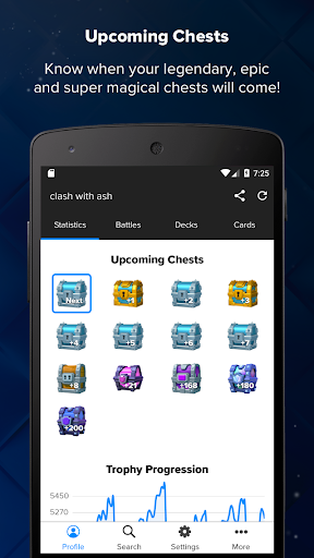 Stats Royale for Clash Royale screenshots 2