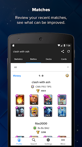 Stats Royale for Clash Royale screenshots 4