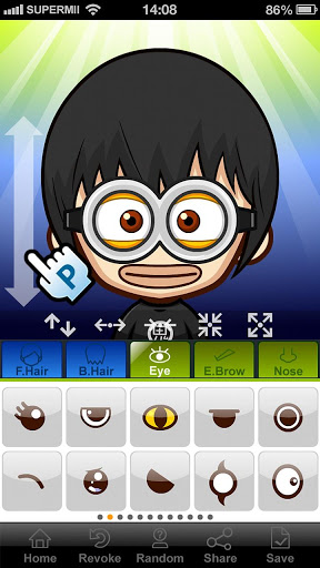 SuperMii- Make Comic Sticker 3.1.0 screenshots 5