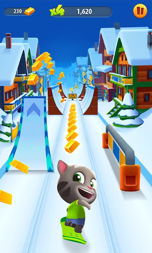 Talking Tom Gold Run screenshots 4