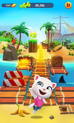 Talking Tom Gold Run screenshots 5