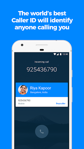 Truecaller Caller ID SMS spam blocking amp Dialer screenshots 1