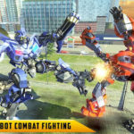 Download US Police Transform Robot Car Cop Wild Horse Games 1.1 MOD APK Unlimited Money