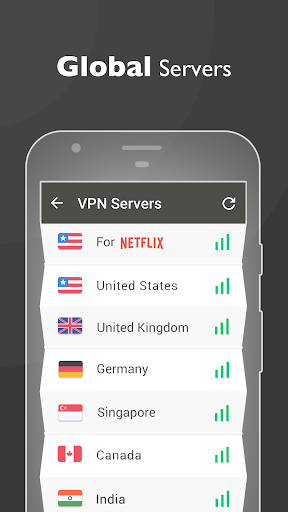 VPN Proxy Master – free unblock amp security VPN 1.0.9 screenshots 3