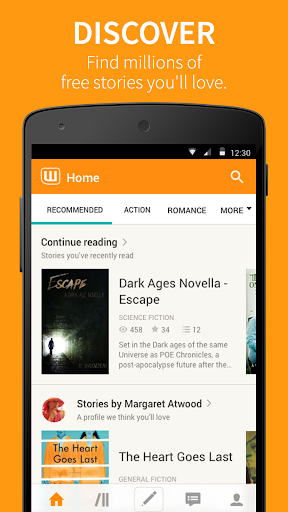 Wattpad Free Books screenshots 1