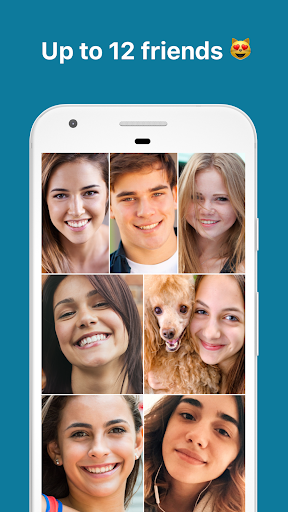 Zooroom Live Group Video Call and Chat in Rooms screenshots 1