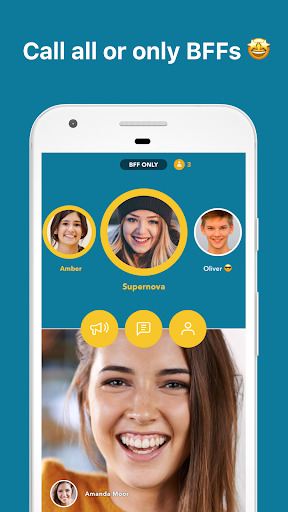 Zooroom Live Group Video Call and Chat in Rooms screenshots 3