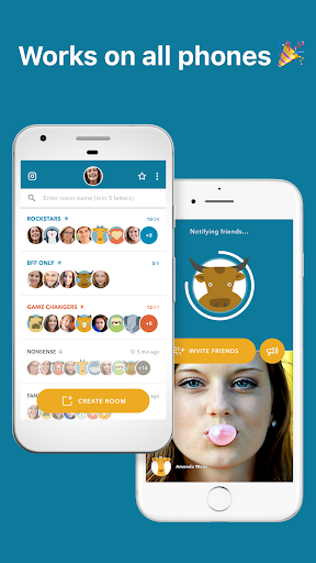 Zooroom Live Group Video Call and Chat in Rooms screenshots 5