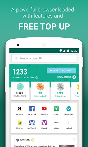 Download mCent Browser – Fast and Safe plus Free Data 0 13