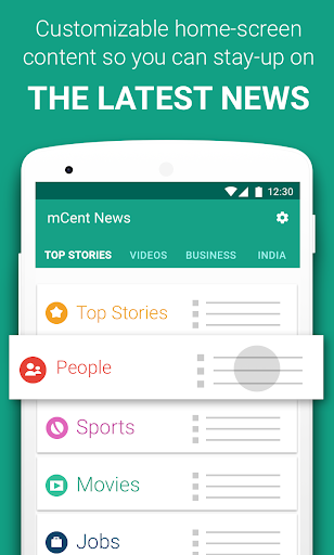 mCent Browser – Fast and Safe plus Free Data 0.13 screenshots 4