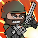 Download Full Doodle Army 2 : Mini Militia  APK MOD Unlimited Cash