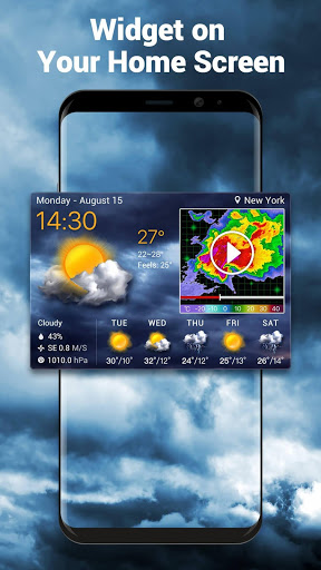 Local Weather Forecast amp Real-time Radar 10.3.8.2381 screenshots 1