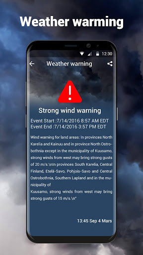 Local Weather Forecast amp Real-time Radar 10.3.8.2381 screenshots 4
