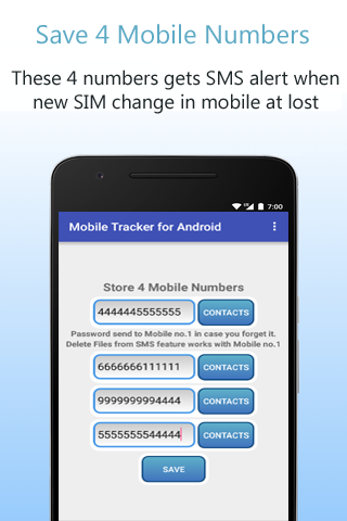 Mobile Tracker for Android screenshots 3