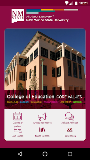 NMSU College of Education screenshots 1