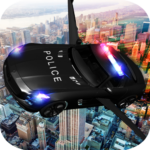 Download Full Flying Police Muscle Car 2017  APK MOD Unlimited Cash