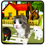 Download Full Kitten Cat Craft-Cat Vs Dog MOD APK Unlimited Money