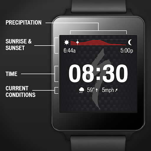 Specialized Bikes Watch Face screenshots 1
