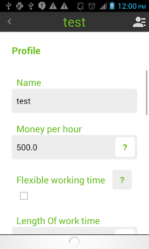 Working Timer – Timesheet screenshots 5