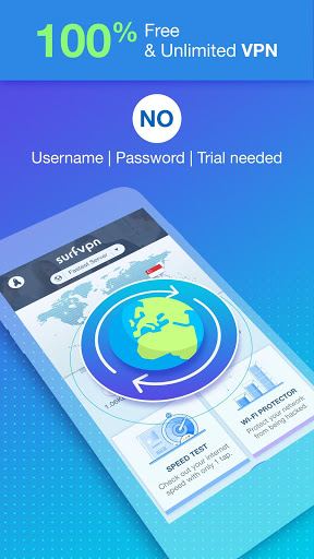 Surf VPN Private Internet Access amp IP Changer screenshots 2