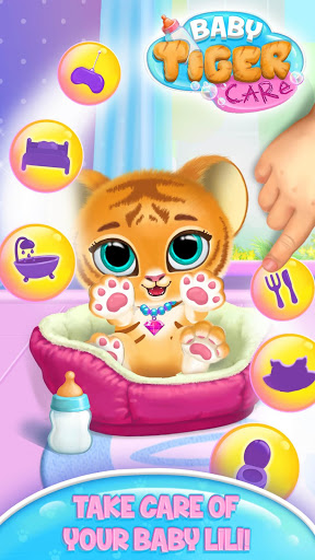 Baby Tiger Care – My Cute Virtual Pet Friend 1.0.89 screenshots 1