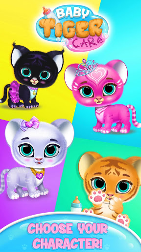Baby Tiger Care – My Cute Virtual Pet Friend 1.0.89 screenshots 2