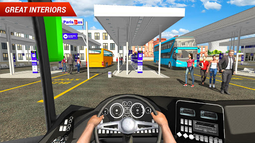 Coach Bus Driving Simulator 2018 2.2 screenshots 2