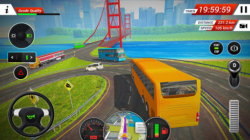 Coach Bus Driving Simulator 2018 2.2 screenshots 4