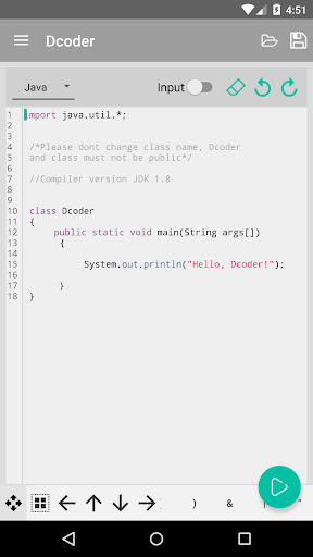 Dcoder Compiler IDE Code amp Programming on mobile 1.6.15 screenshots 5