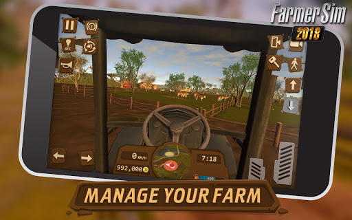 Farmer Sim 2018 1.8.0 screenshots 4