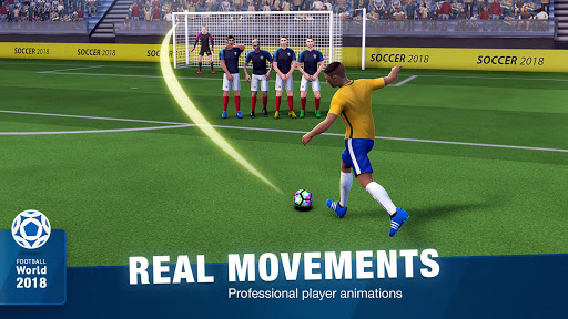 FreeKick Soccer World 2018 1.6.6 screenshots 4