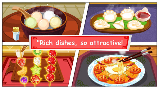 Panda Chef Chinese Recipes-Cooking Game for Kids 8.26.00.02 screenshots 2