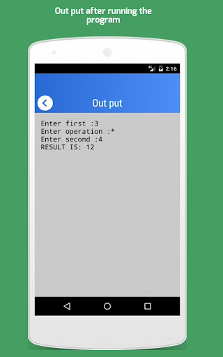 Python For Android 2.3.0 screenshots 4