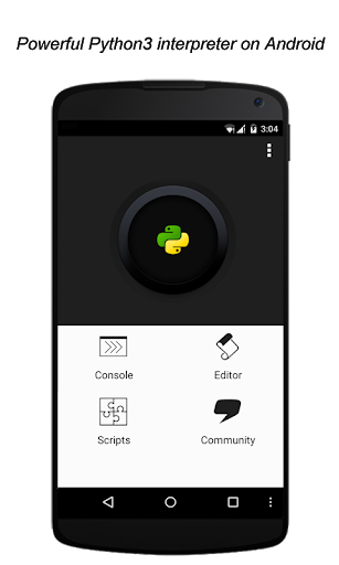 QPython3 – Python3 for Android 1.3.2 screenshots 1